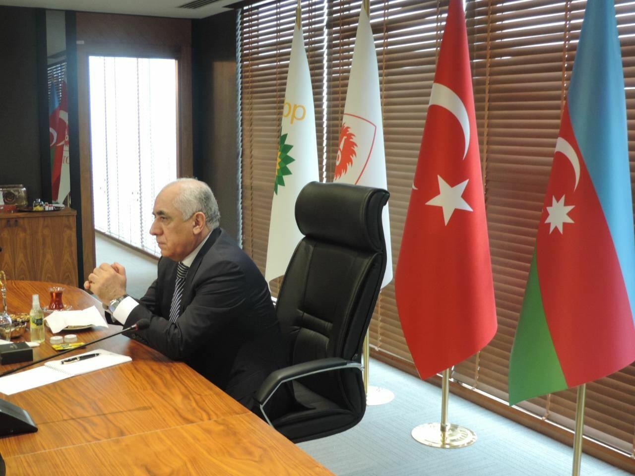 Азербайджанская делегация побывала в офисе TANAP в Анкаре