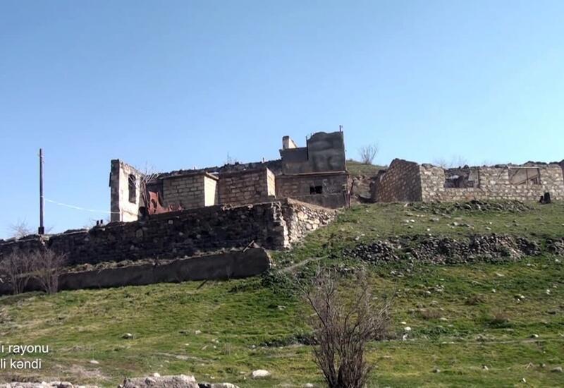 Село Гамзали Губадлинского района
