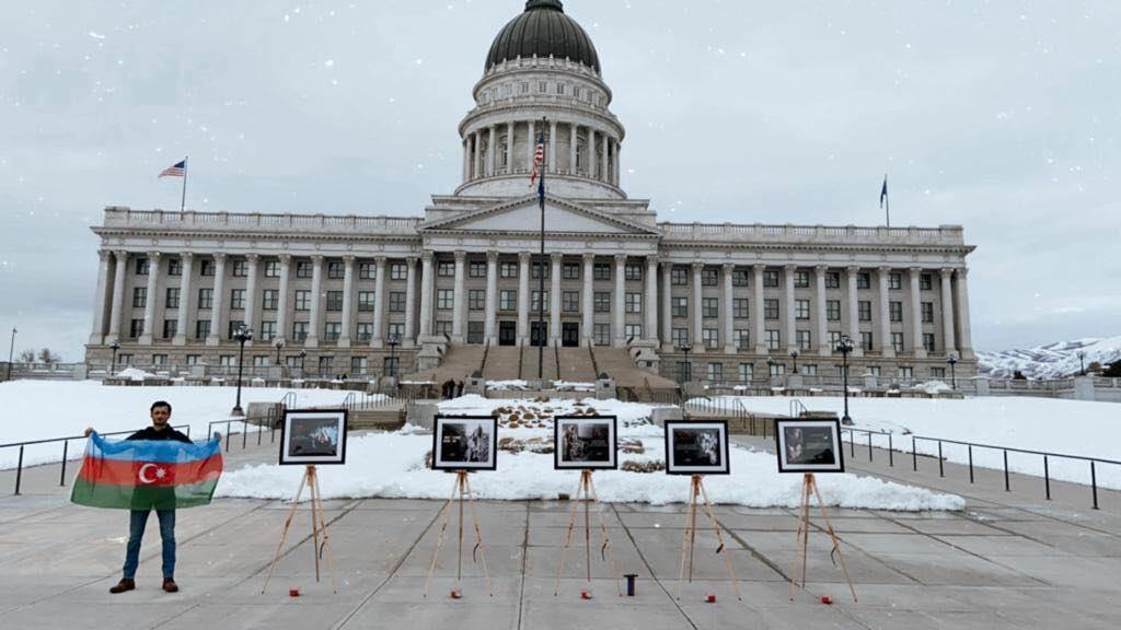 В штате Юта открылась выставка, посвященная Ходжалинскому геноциду