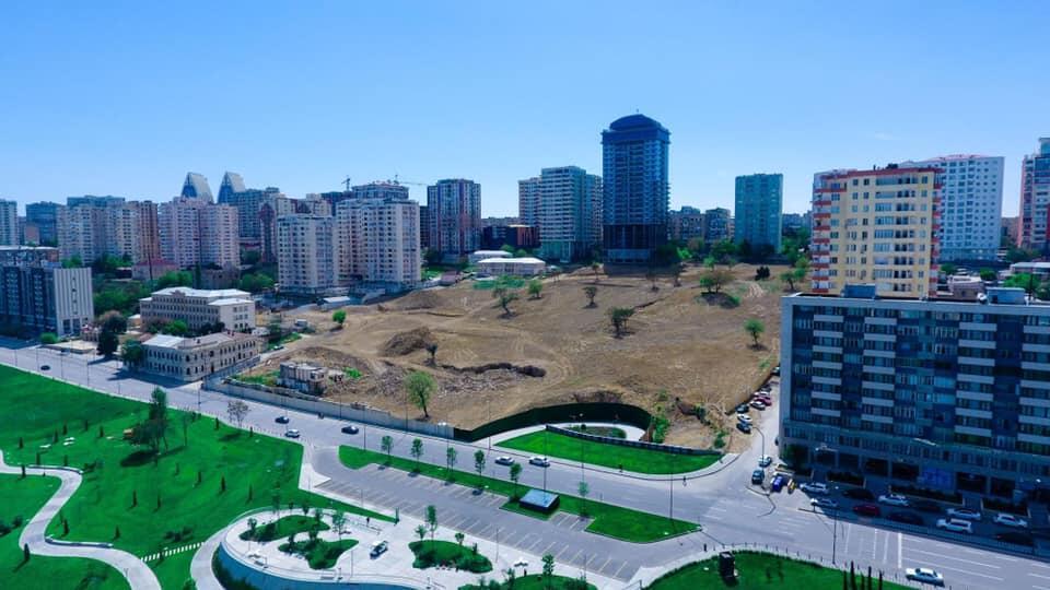 Новый облик Центрального парка в Баку