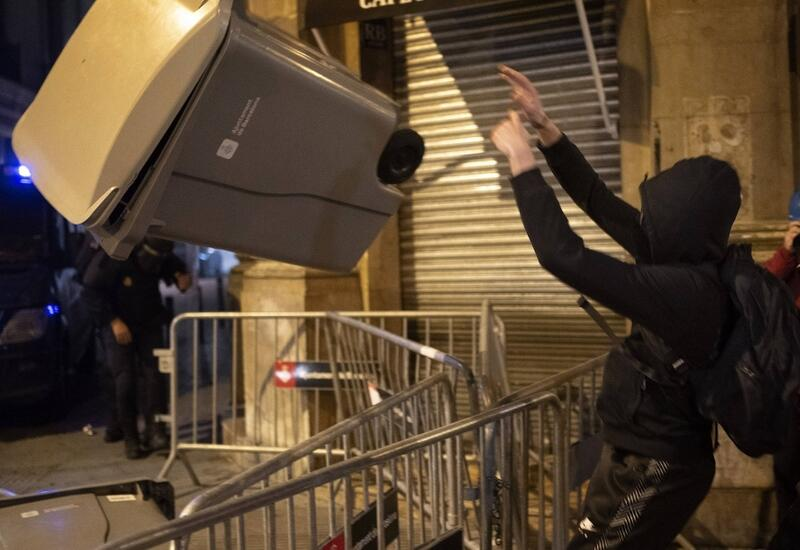 В Испании не утихают протесты против ареста Пабло Хаселя