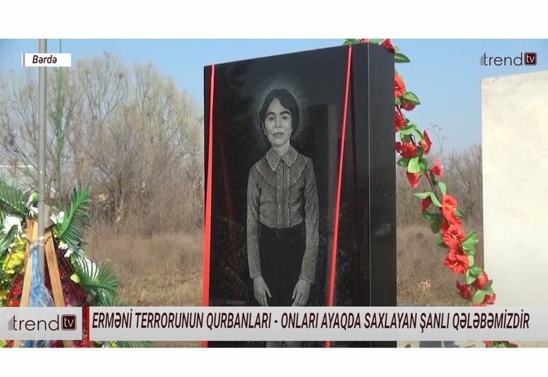 Репортаж Trend TV о семье убитой армянами 7-летней Айсу