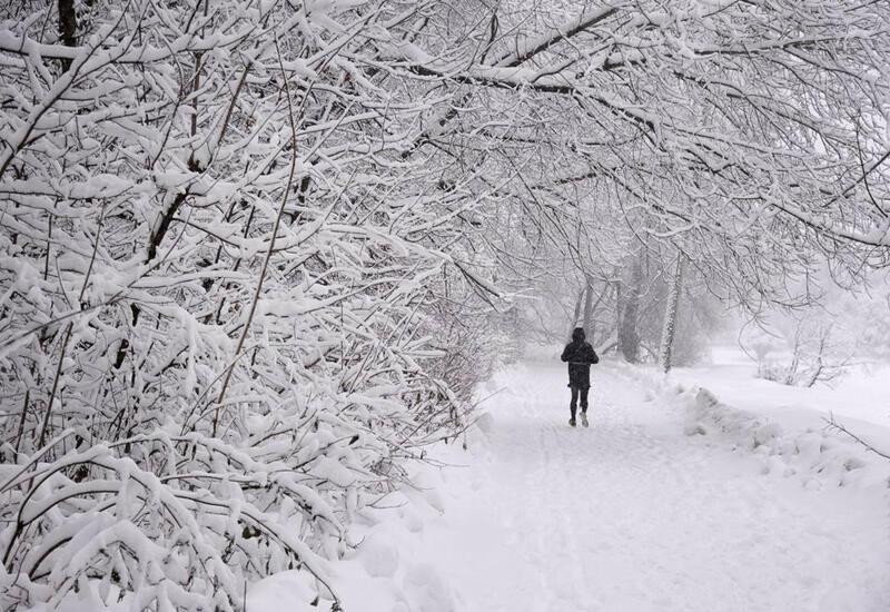 В горах на территории Азербайджана 16-градусный мороз