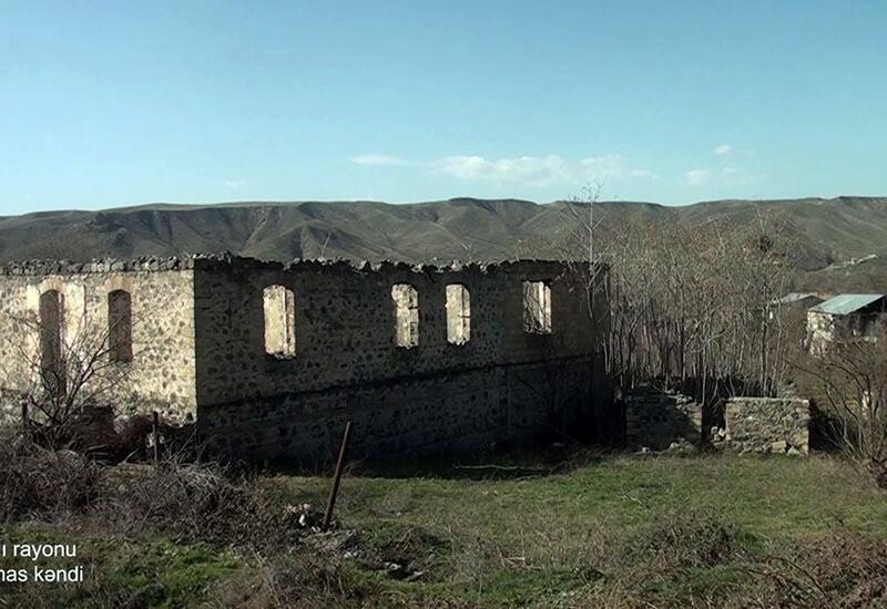 Разрушенное село Чайтумас Губадлинского района