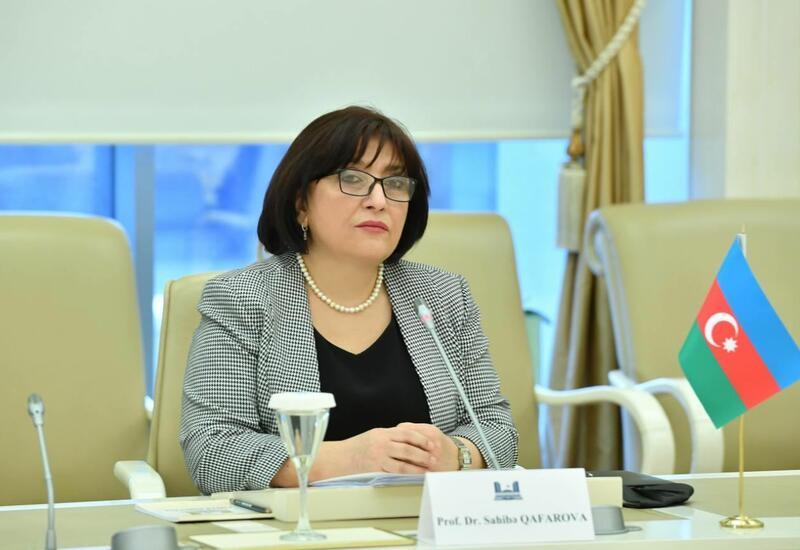 Сахиба Гафарова встретилась с делегацией Национального собрания Франции