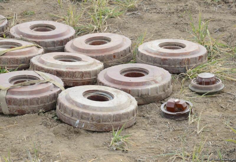 Армения превратила в безжизненные места заминированные территории Азербайджана