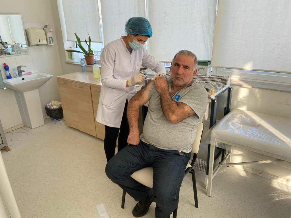 Сотрудники Бакинского порта прошли вакцинацию против коронавируса