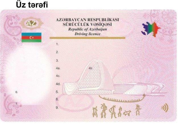 Так выглядят новые водительские удостоверения Азербайджана