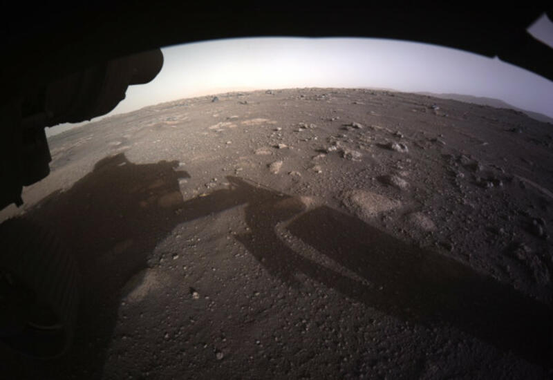 NASA показало кадры посадки ровера Perseverance на Марс