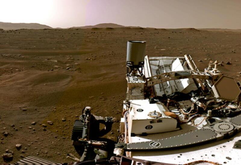 NASA опубликовало звуки с поверхности Марса