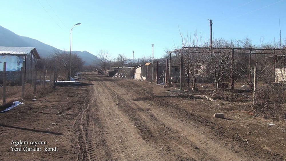 Село Ени Гаралар Агдамского района