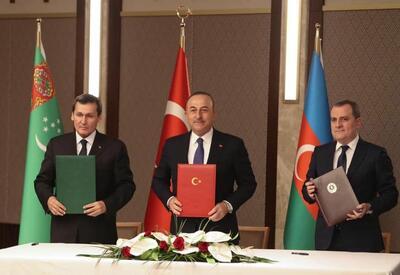 Баку, Анкара и Ашхабад очерчивают новые рамки Шелкового пути  - ВЗГЛЯД ИЗ ТУРЦИИ