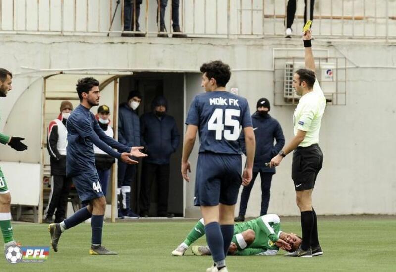 Из-за снежной погоды отменены три матча чемпионата Азербайджана