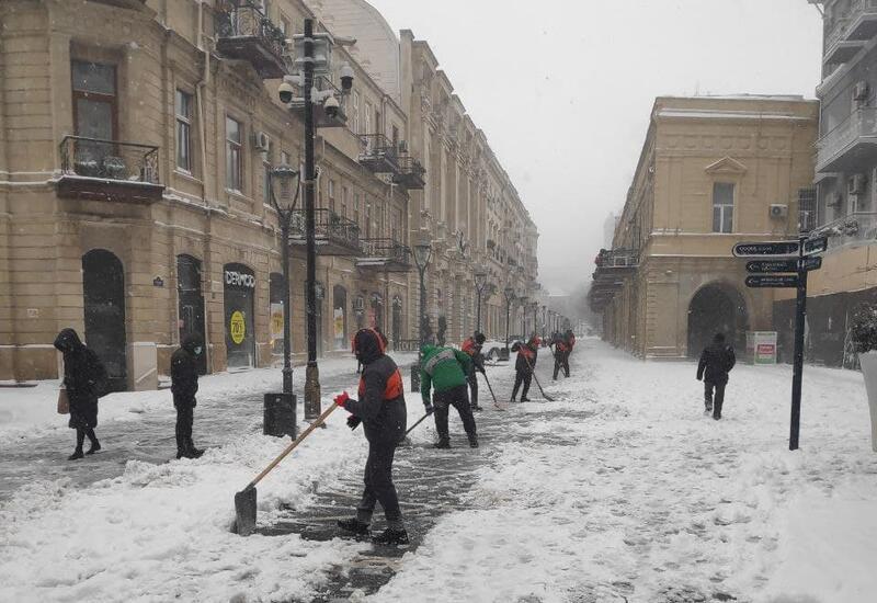 Температура в Баку опустится до -9 градусов