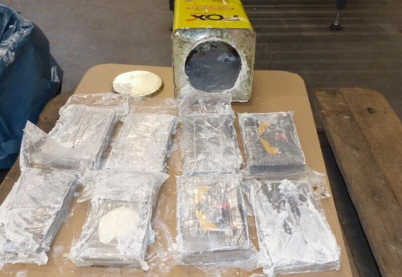 Крупнейшую в Европе партию кокаина изъяли в порту Гамбурга