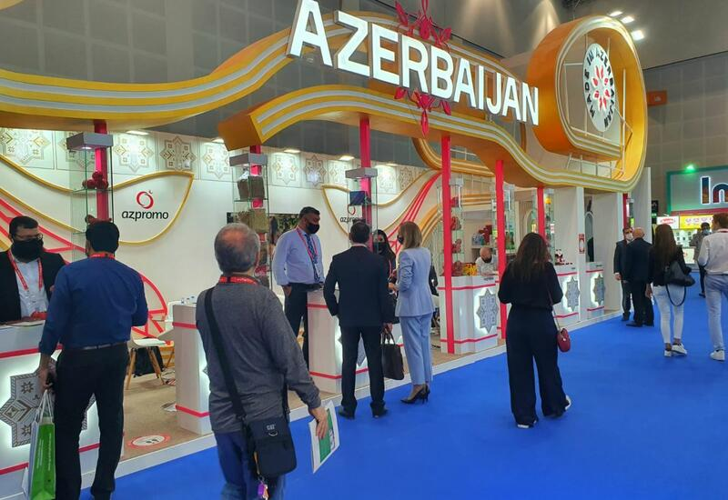 Азербайджанская продукция вызвала большой интерес на международной выставке в Дубае