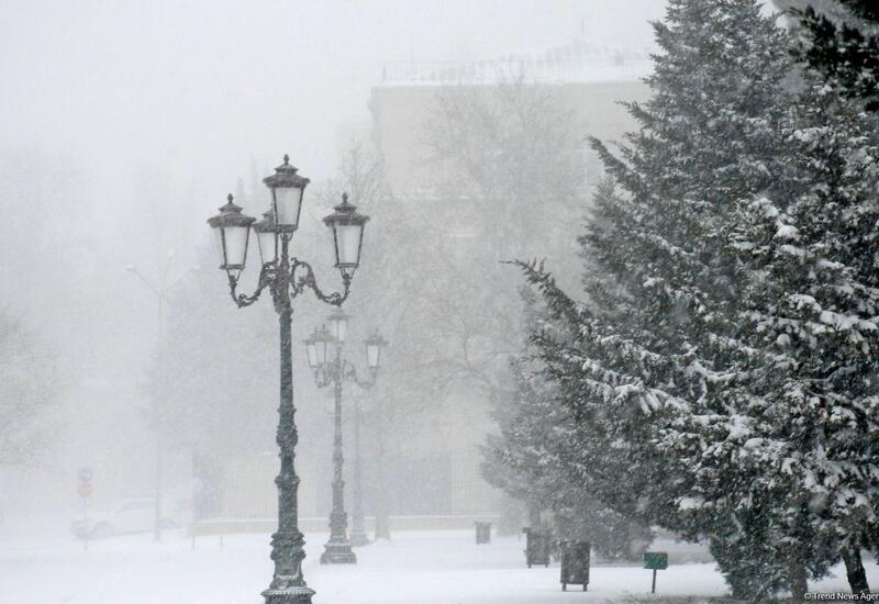 Такого сильного мороза не было в Баку 9 лет