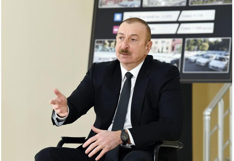 Президент Ильхам Алиев: Все эти годы мы готовились к войне. И не скрывали этого