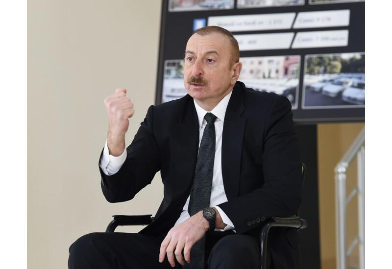 Президент Ильхам Алиев: Если кто-то живет реваншистскими мыслями, то увидит вот этот кулак