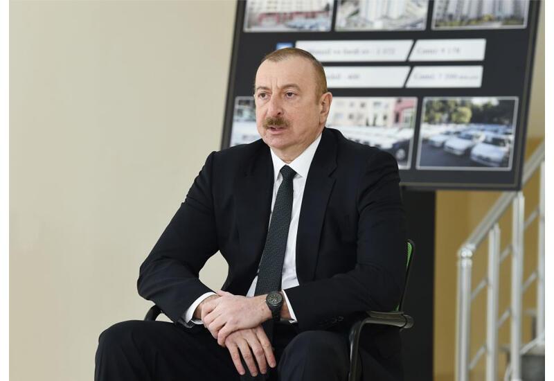 Президент Ильхам Алиев: Сдача в период тандема НФА-Мусават Шуши, Лачина, Кяльбаджара врагу была большим предательством