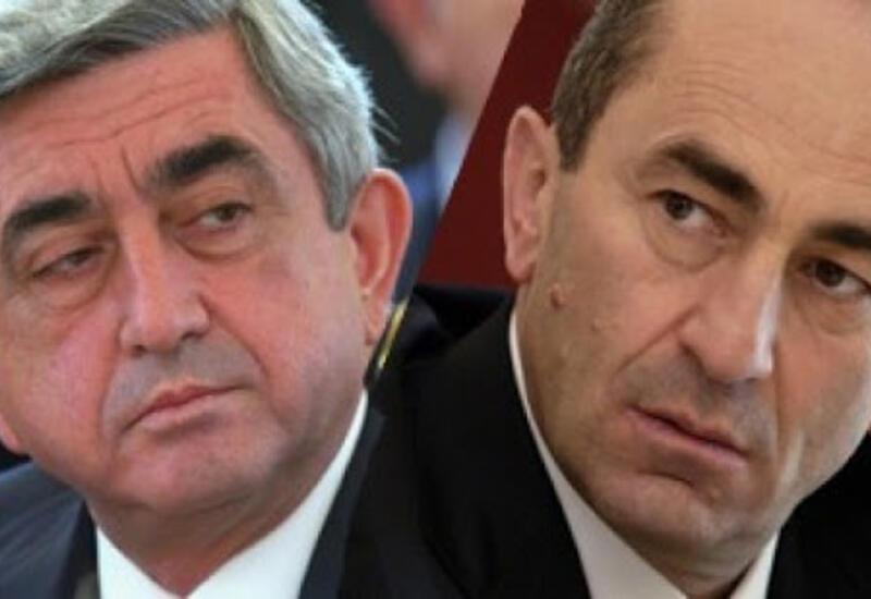 Кочарян и Саргсян поддержали взбунтовавшийся генштаб Армении