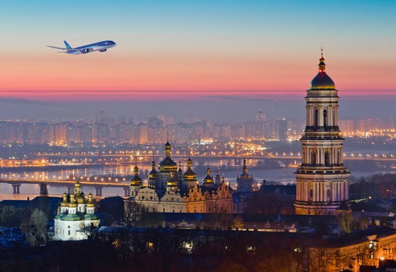 AZAL начинает выполнять спецрейсы из Баку в Киев