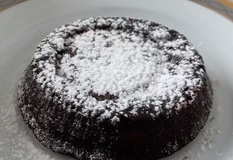 Рецепт вкусного шоколадного фондана в блоге Фариды Нури