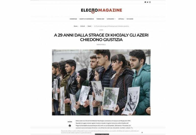 Необходимо наказать виновников Ходжалинской трагедии