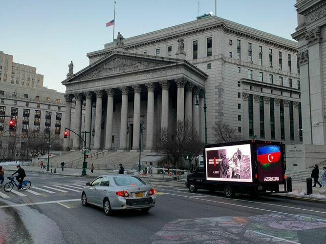 В пяти штатах США организована информационная акция «Справедливость Ходжалы!»