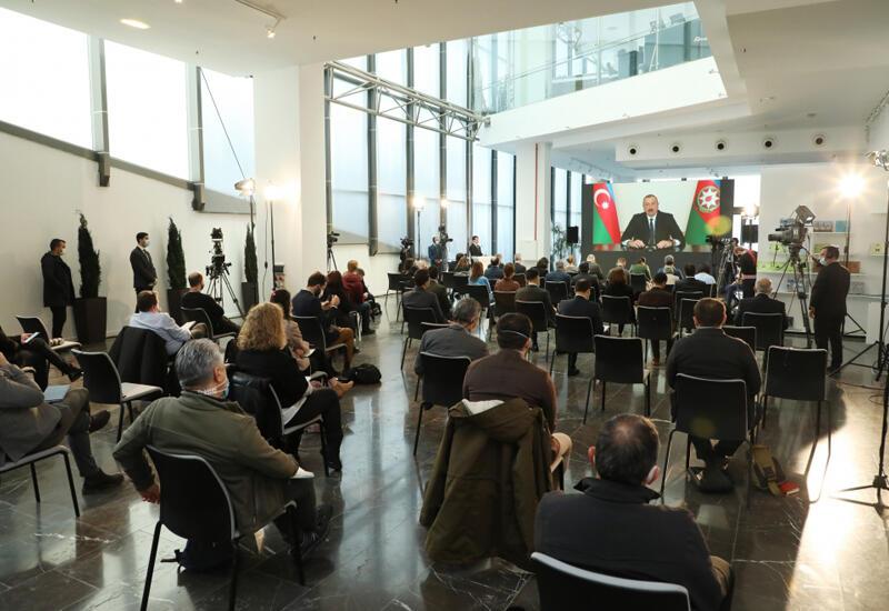 Большая пресс-конференция Президента Ильхама Алиева в центре внимания испанских СМИ