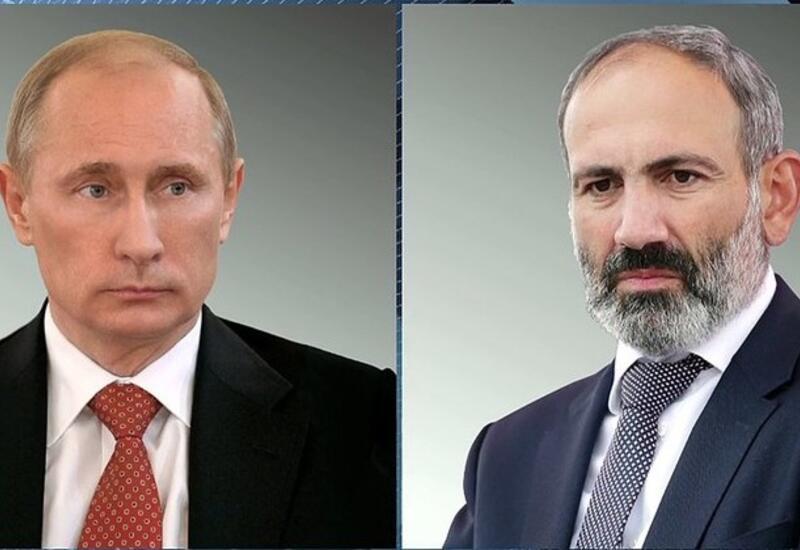 В Кремле раскрыли подробности разговора Путина и Пашиняна