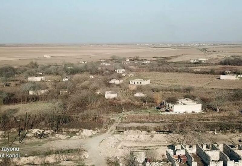 Разрушенное село Терноют Агдамского района