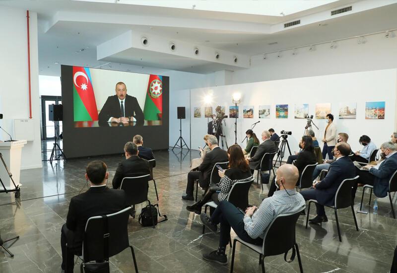 Президент Ильхам Алиев: Когда ракеты «Искандер» были переданы Армении, я говорил, что это неправильный шаг