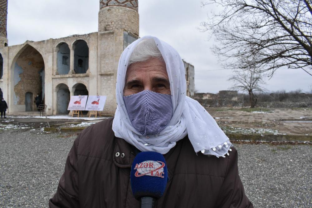 """Матери Сребреницы"" посетили Агдам"