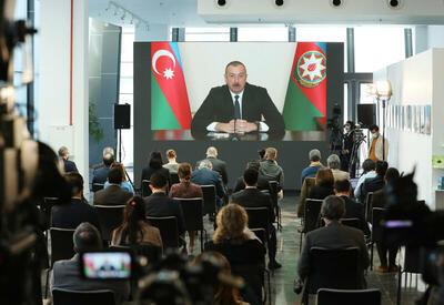 Президент Ильхам Алиев. Триумф победителя и восхищение журналистов