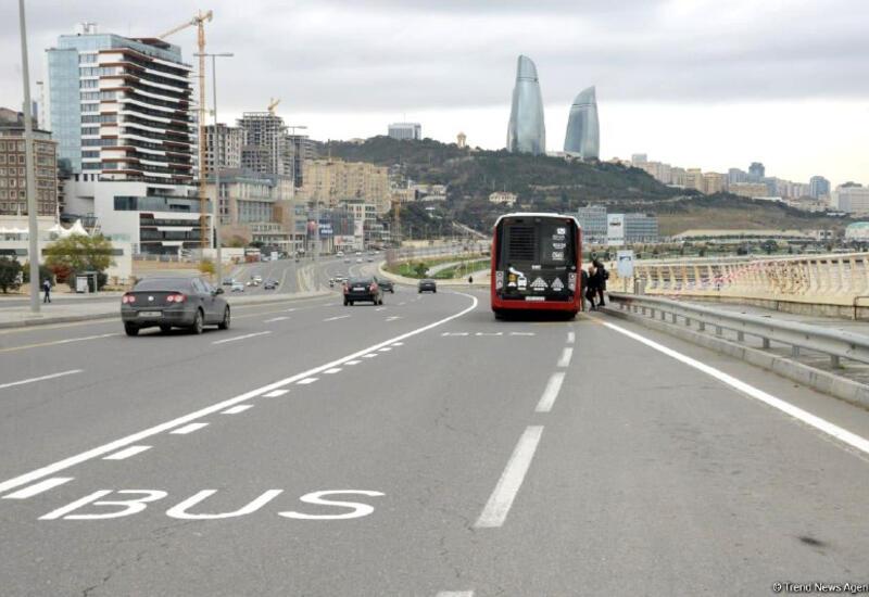 Названы улица и проспект, где автобусные полосы действуют круглосуточно
