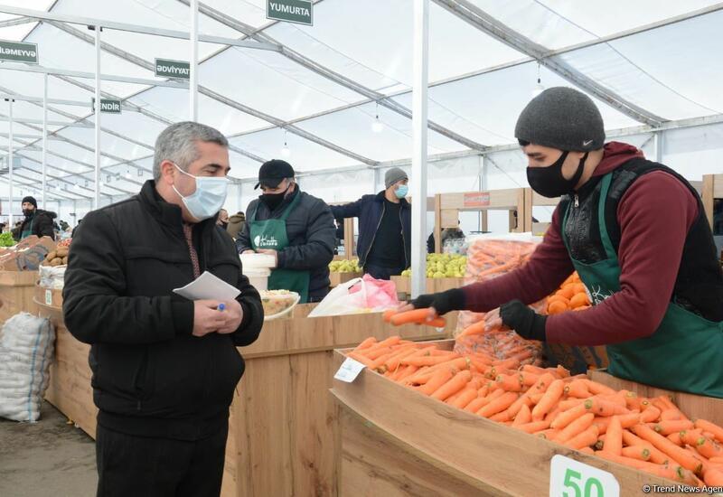 В Баку открылись сельскохозяйственные ярмарки