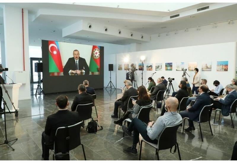 Президент Ильхам Алиев: У нас еще есть и планы по строительству аэропортов в Лачине и Зангилане