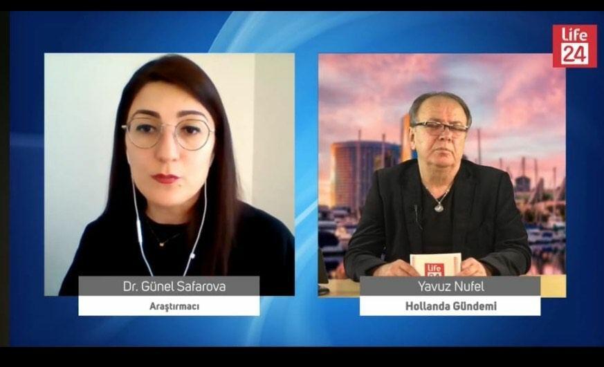 Niderlandın Life24 kanalında Xocalı soyqırımından danışılıb