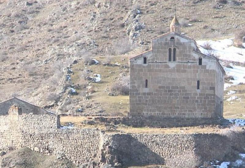 В албано-удинском храме в Лачинском районе Азербайджана прошла вторая служба
