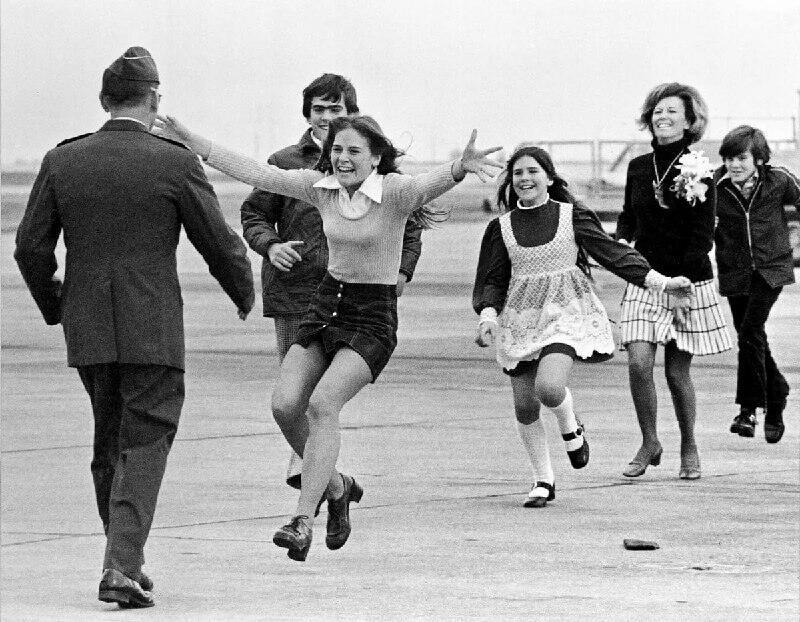 Как семья встречала американского подполковника после войны во Вьетнаме