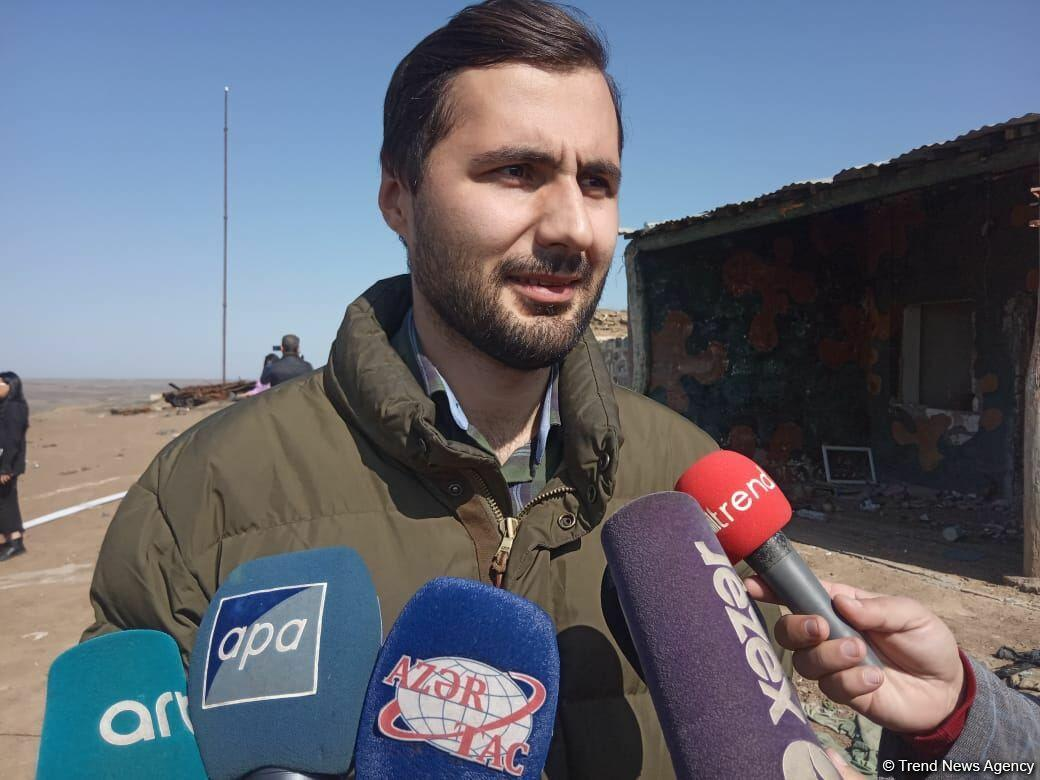 Грузинские журналисты и эксперты посетили Физулинский район