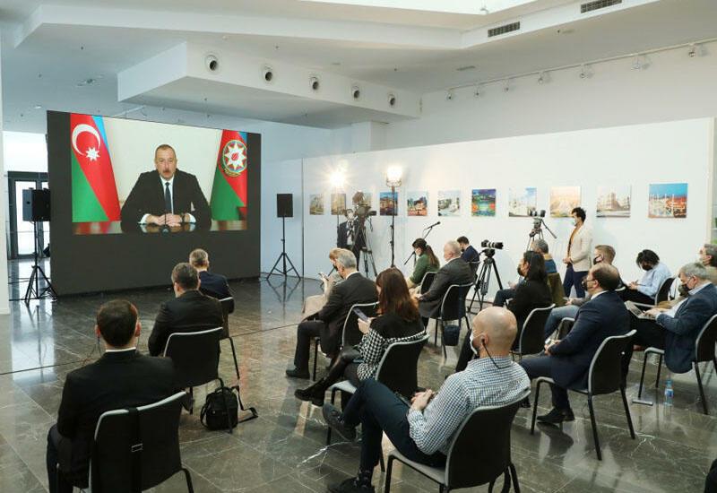Полная версия пресс-конференции Президента Ильхама Алиева на сайте president.az