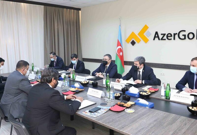 В AzerGold состоялась встреча с гендиректором Организации по пограничным делам Пакистана