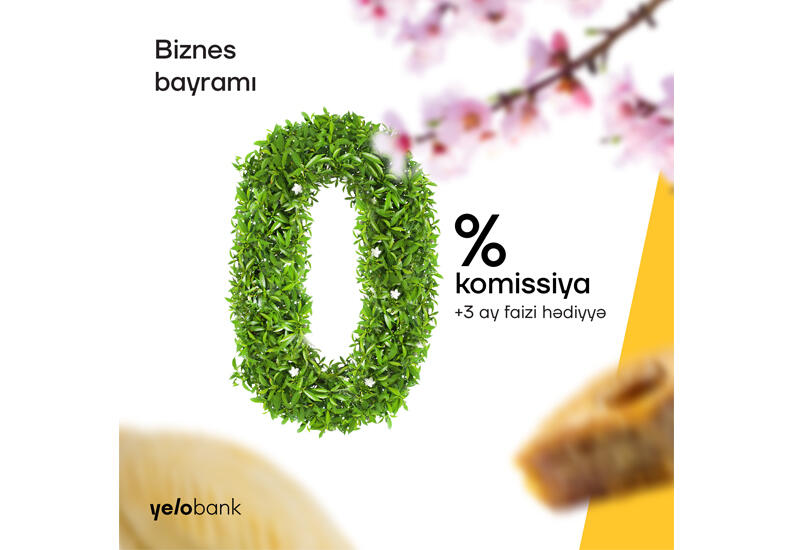 Кампания на Новруз от Yelo Bank для бизнесменов (R)