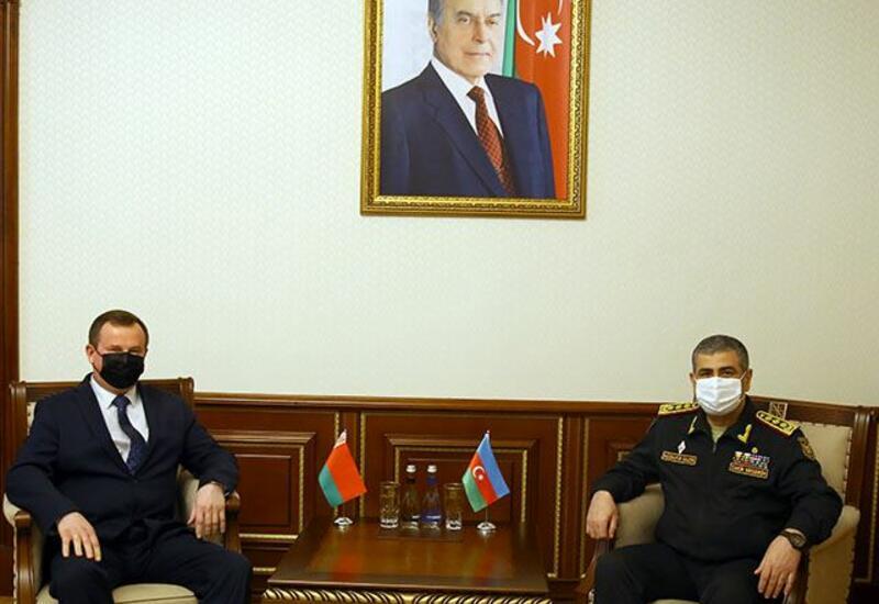 Баку и Минск обсудили перспективы развития военного сотрудничества