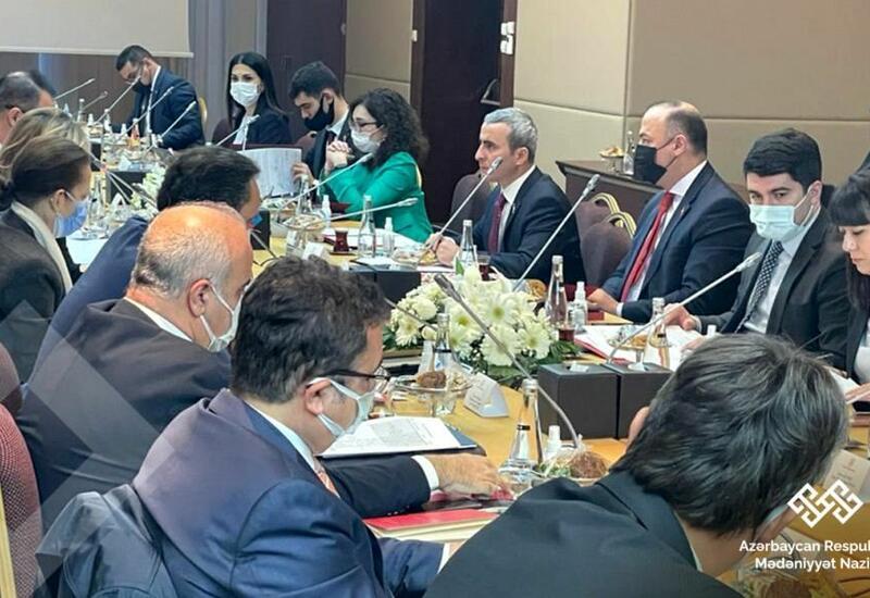 Состоялось заседание Совместной азербайджано-турецкой комиссии по культуре в Анкаре