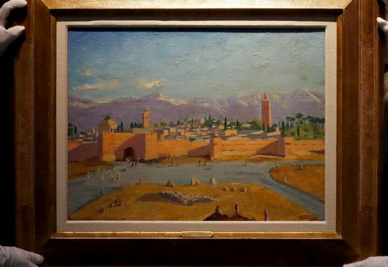Неизвестный коллекционер купил картину Черчилля за рекордную цену