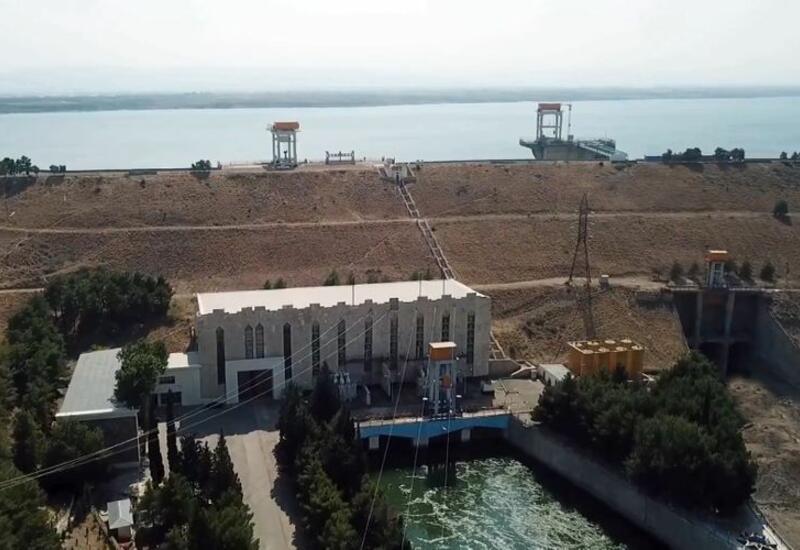 Водохранилище Шамкирской ГЭС выводится из аварийного состояния