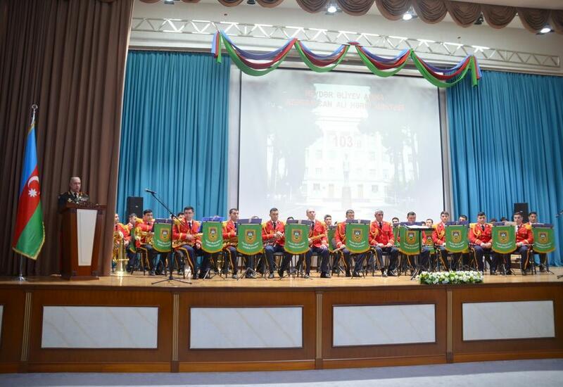 Высшее военное училище имени Гейдара Алиева отмечает 103-летие